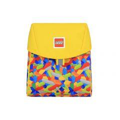 Rucsac gradinita LEGO Tribini Line - design Bricks Yellow