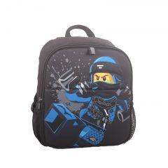 Rucsac negru LEGO M-Line - design albastru Ninjago Jay