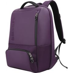 Rucsac BESTLIFE Neoton - violet - laptop 16 inch, charge pentru USB si TypeC conectori