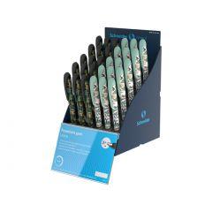 SIS Display SCHNEIDER Voice Jungle, 30 stilouri - (15 x S-160001, 15 x S-160004)