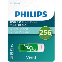 Memory stick USB 3.0 - 256GB  PHILIPS Vivid Edition Spring Green