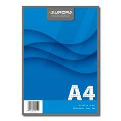 Blocnotes capsat, A4, 100 file - 60g/mp, microperforatii, AURORA Office - dictando