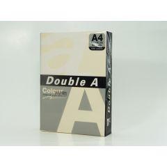 Hartie color pentru copiator  A4,  80g/mp,  25coli/top, Double A - pastel ivory