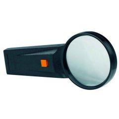 Lupa D- 75mm, cu lumina, 4x, ALCO - forma rotunda