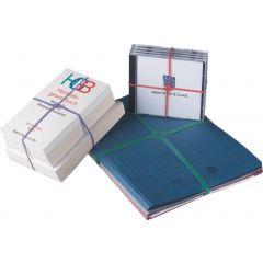 Elastice pentru carti, forma X, 100g/cutie, D 150 x 11mm, ALCO