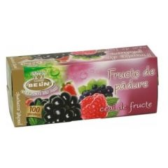 Ceai BELIN fructe de padure, 100 pliculete cu supraplic/cutie