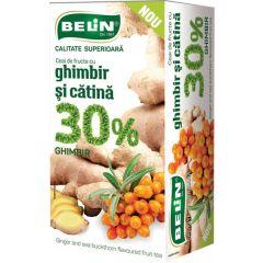 Ceai Belin fructe 30% ghimbir si catina, 20 pliculete