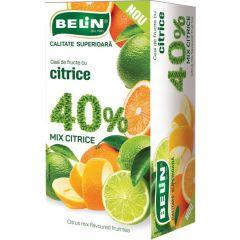 Ceai Belin fructe 40% mix citrice, 20 pliculete