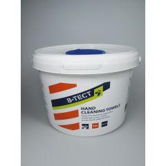 Servetele umede, 28 x 28 cm, pentru curatat mainile, 150buc/galeata, B-Tect