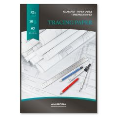 Hartie calc A3 - 297 x 420mm,  20 file - 72g/mp, AURORA Raphael