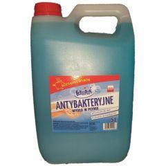 Sapun lichid, 5 litri, antibacterian, PH-neutru, Tanius - albastru