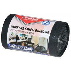 Saci menaj rezistenti  35L, 49 x 56cm, 20 microni, 50buc/rola, Office Products - negri