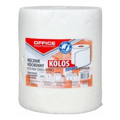 Prosop rola hartie alba,  60m - 2 straturi, Office Products Kolos Junior