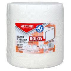 Prosop rola hartie alba, 100m - 2 straturi, Office Products Kolos