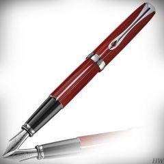 DIPLOMAT Excellence A2 - Sky-Line Red - stilou cu penita M, din otel inoxidabil