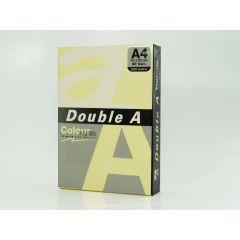 Hartie color pentru copiator  A4,  80g/mp, 100coli/top, Double A - pastel cheese