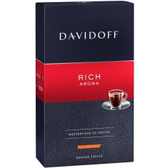 Cafea Davidoff rich aroma, 250 gr./pachet - macinata