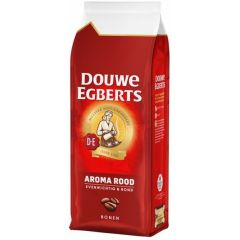 Cafea Douwe Egberts aroma rood, 250gr./pachet - boabe