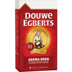 Cafea Douwe Egberts aroma rood, 500gr./pachet - macinata