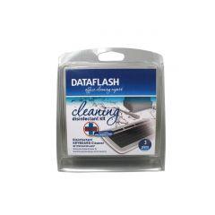 Set dezinfectie tastatura, (spray dezinfectant 50ml + burete tastatura + 1 betisor), DATA FLASH
