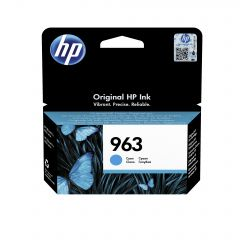 HP 3JA23AE 963 INK CARTRIDGE CYAN