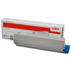 OKI TONER C831/841/831DM CYAN 10K