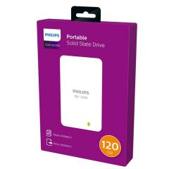 Hard disk extern PHILIPS - SSD 120GB, USB 3.0
