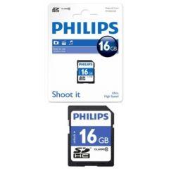 Card memorie SDHC, clasa 10, PHILIPS - 16GB