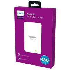 Hard disk extern PHILIPS - SSD 480GB, USB 3.0