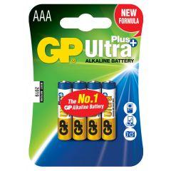 Baterie ultraalcalina R3,AAA, 4 buc/set - GP