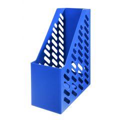Suport vertical plastic pentru cataloage HAN Klassik XXL - albastru