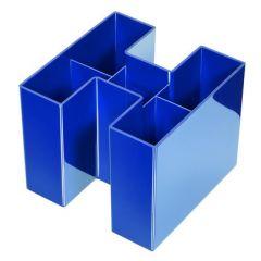 Suport pentru instrumente de scris, HAN Bravo - albastru lucios