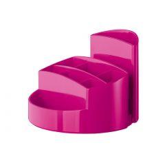 Suport pentru articole de birou, HAN Rondo - roz metalizat