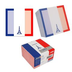 "Cub notes autoadeziv 70 x 70 mm, 400 file, Stick""n France - alb"