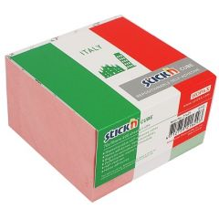 "Cub notes autoadeziv 70 x 70 mm, 400 file, Stick""n Italy - alb"