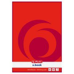 BLOC NOTES A4 50F PATRATELE X.BOOK
