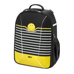 RUCSAC BE.BAG AIRGO SMILEY WORLD BLACK STRIPES