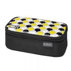 NECESSAIRE BE.BAG BEAT BOX MOTIV SMILEYBLACK YELLOW FACES
