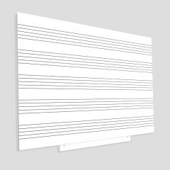 SKINMUSIC MAGNETIC CU SUPRAFATA LACUITA, LINIATURA MUZICA, DESIGN FARA CABLU, MODULAR, DIMENSIUNE 100 X 150 CM