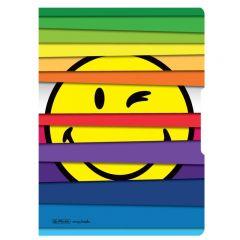 CAIET MY.BOOK FLEX A4 40F 80GR PATRATELE MOTIV SMILEY WORLD JALOUSIE