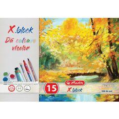 BLOC DESEN X.BLOCK A3 15 FILE 250 GRAME POLICROM