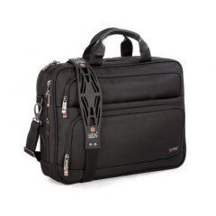 "Geanta laptop 15.6"" si tableta 12"", polyester, I-stay Fortis Organiser - negru"
