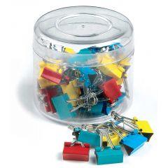 Clip hartie 15mm, 50buc/cutie, ARTIGLIO - culori asortate