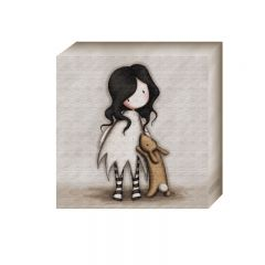 Tablou mediu Gorjuss - I Love you Little Rabbit