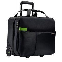 Geanta LEITZ Complete cu 2 rotile Smart Traveller - negru