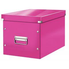 Cutie LEITZ Click & Store Cub, mare - roz