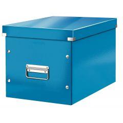 Cutie LEITZ Click & Store Cub, mare - albastru