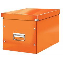 Cutie LEITZ Click & Store Cub, mare - portocaliu
