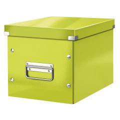 Cutie LEITZ Click & Store Cub, medie - verde