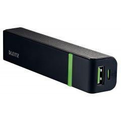 Baterie externa LEITZ Complete de mare viteza cu USB, 5.200 mAh - negru